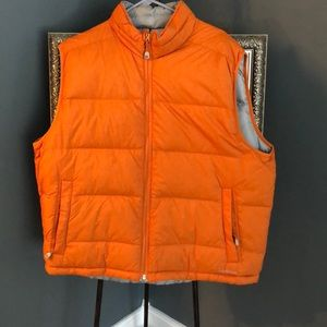 LL Bean reversible vest